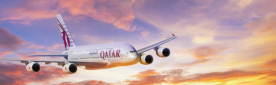 Qatar Airways A 380